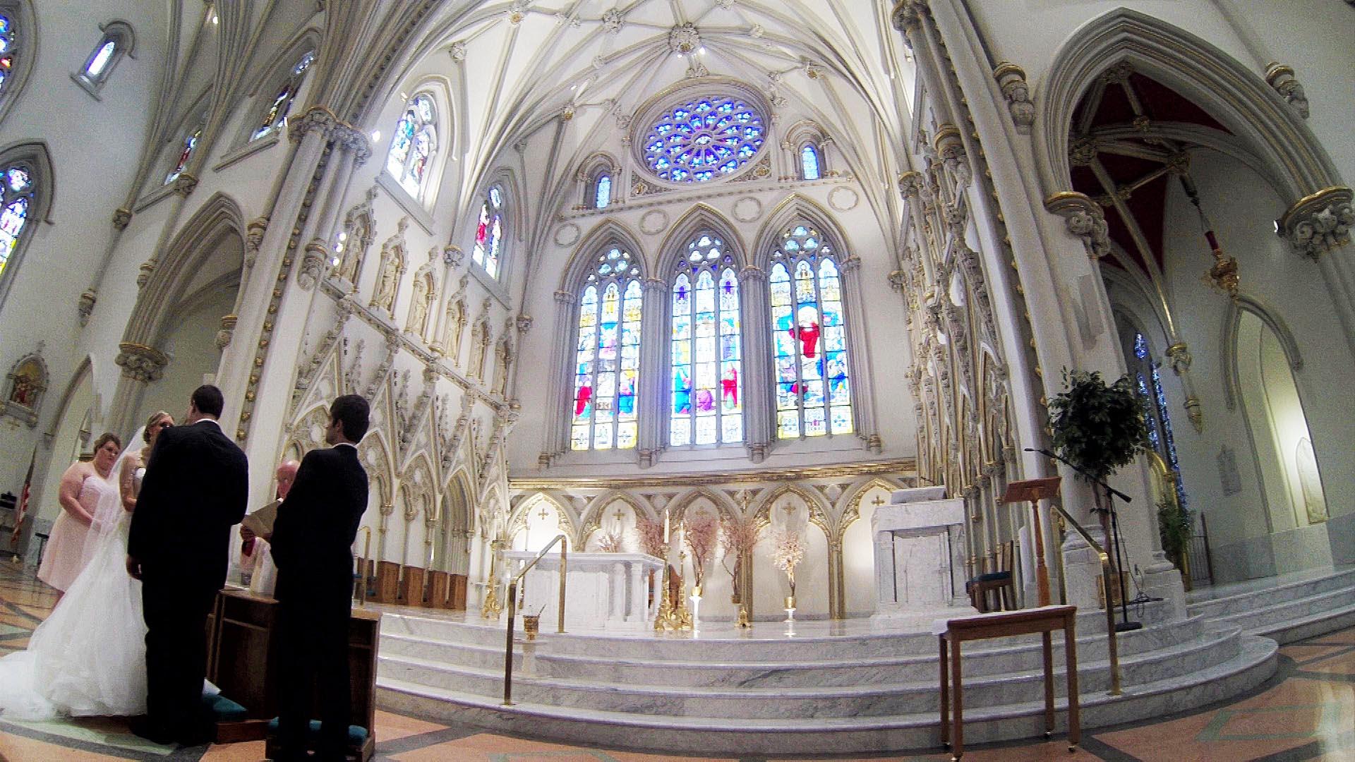 Matt & Laxey – Buffalo Wedding Video – St. Joseph's Cathedral