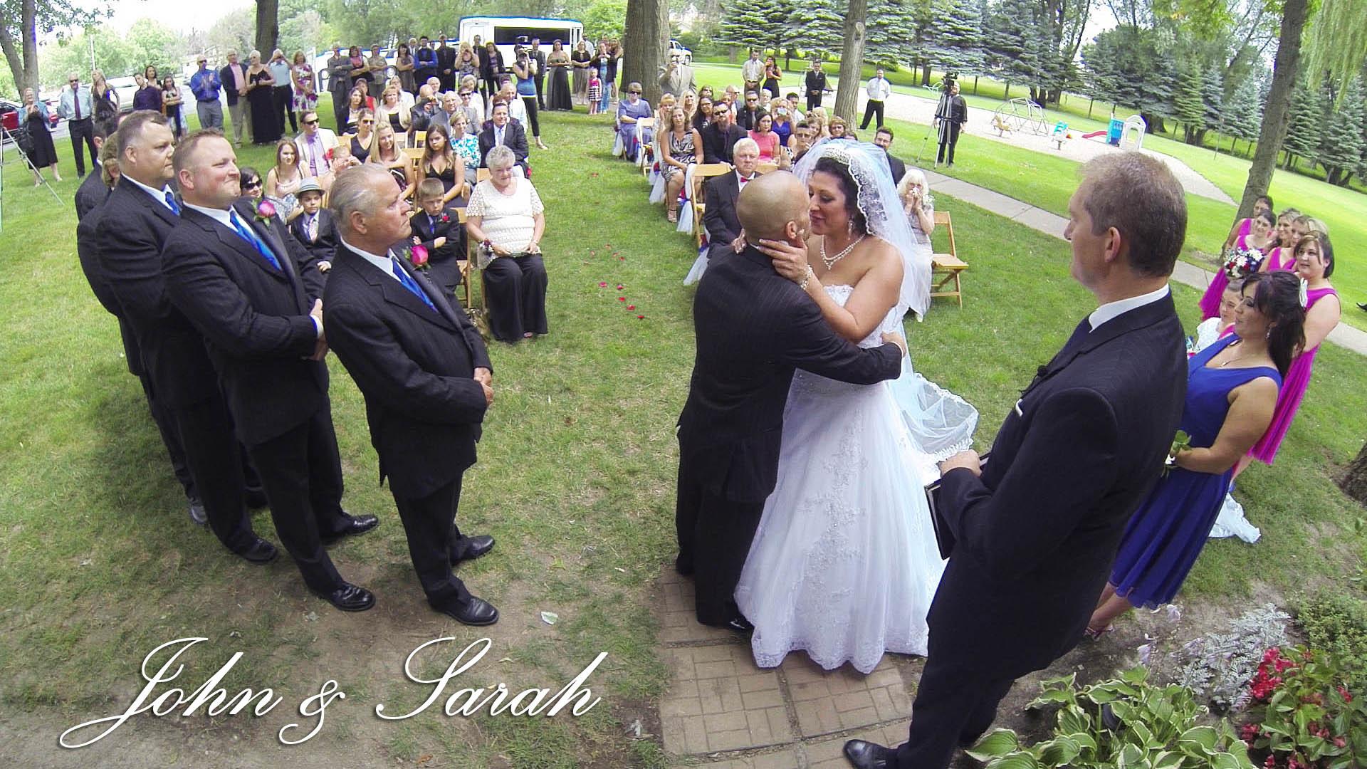 John & Sarah – Buffalo Wedding Videographer
