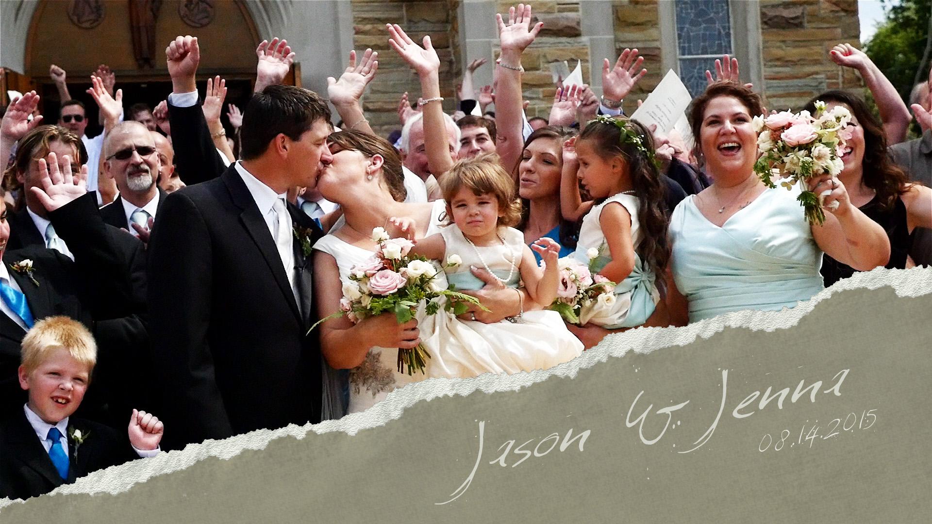Jason & Jenna – Gowanda NY Wedding