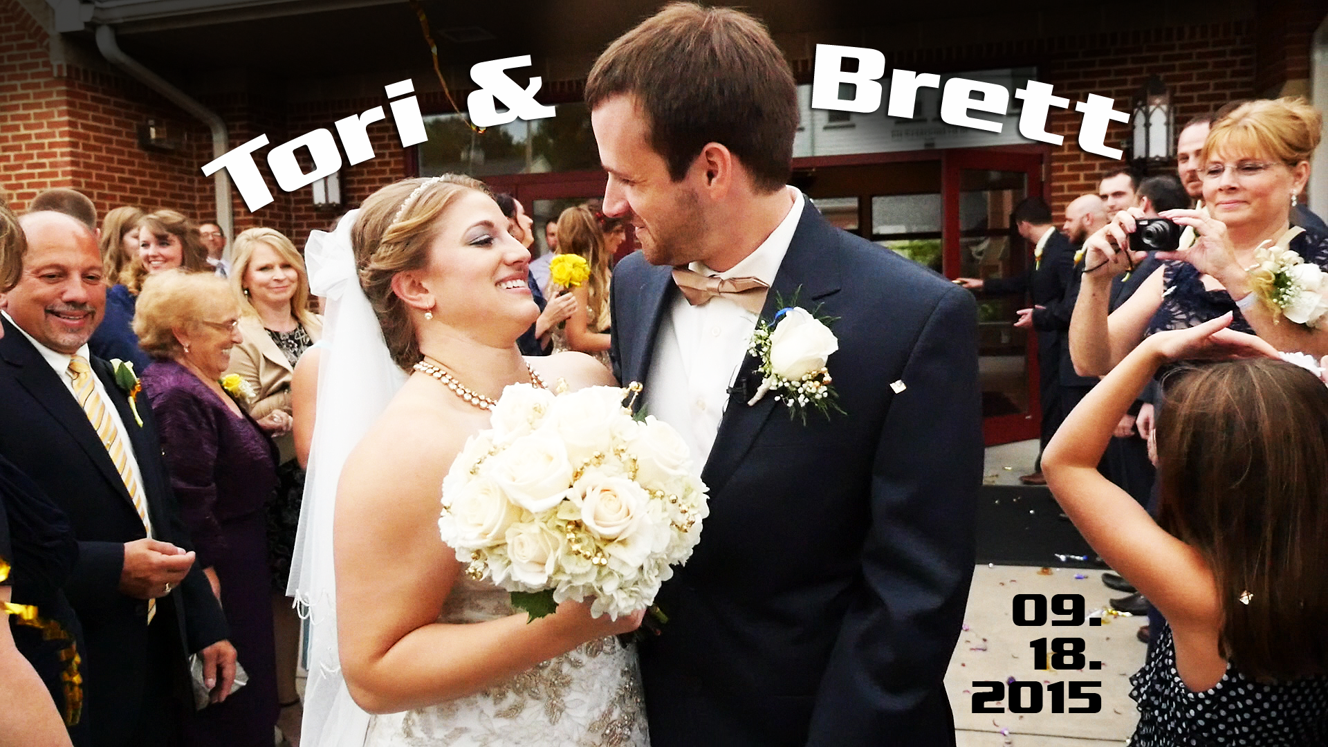 Brett & Tori – Greenville, PA Wedding Video