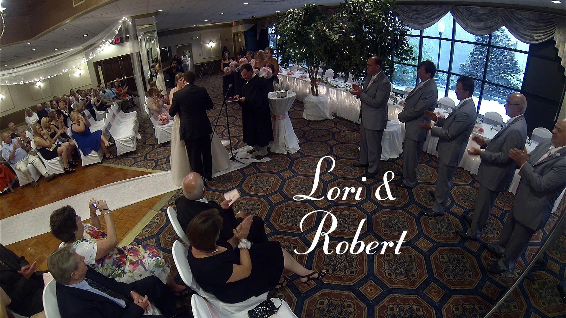 Robert & Lori – Erie, PA Wedding Video