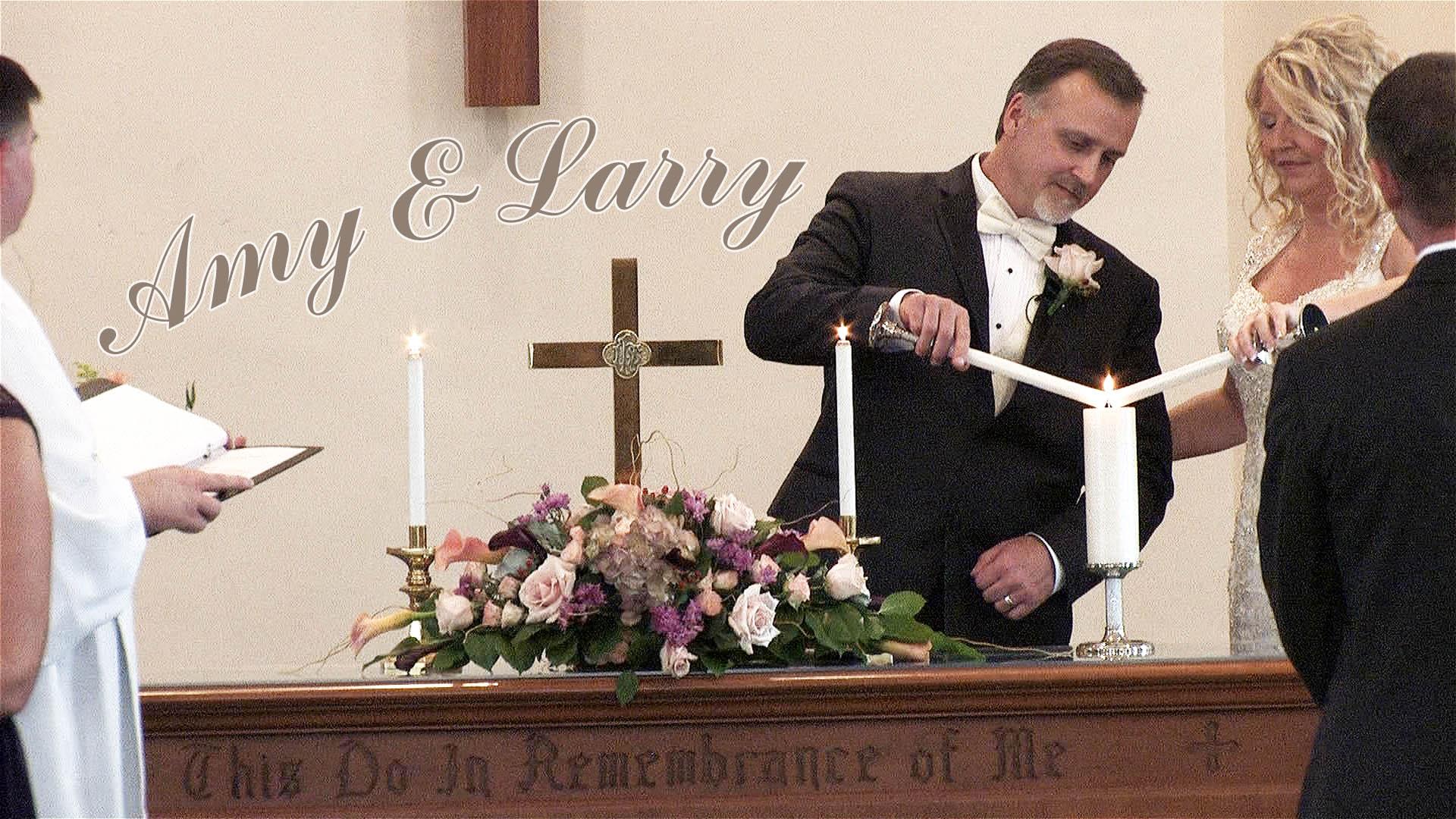 Amy & Larry – Geneva NY Wedding Video