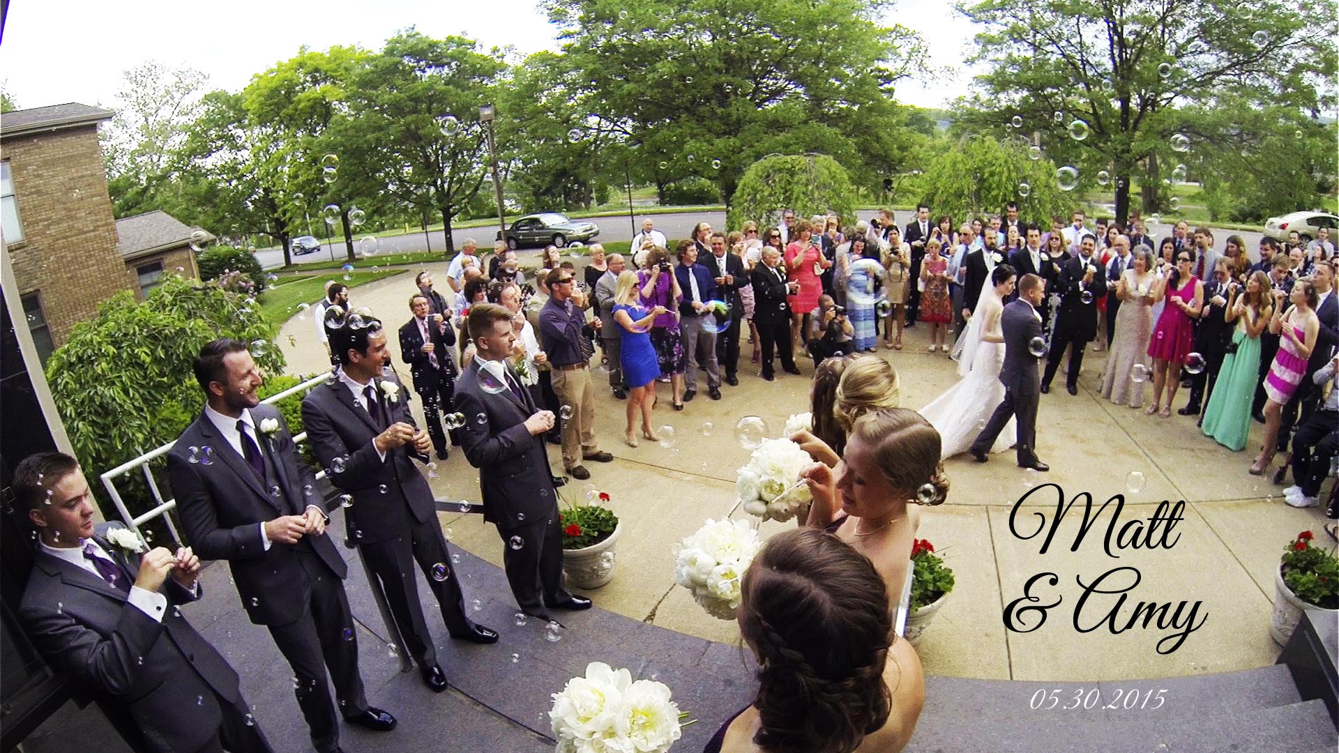 Matt & Amy – Warren, PA Wedding Video