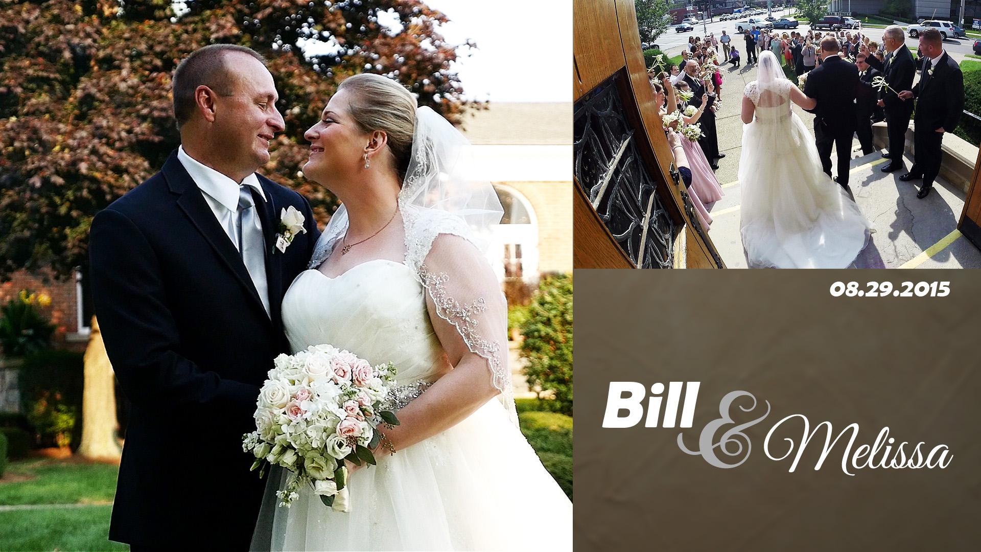 Bill & Melissa – Buffalo Wedding Video