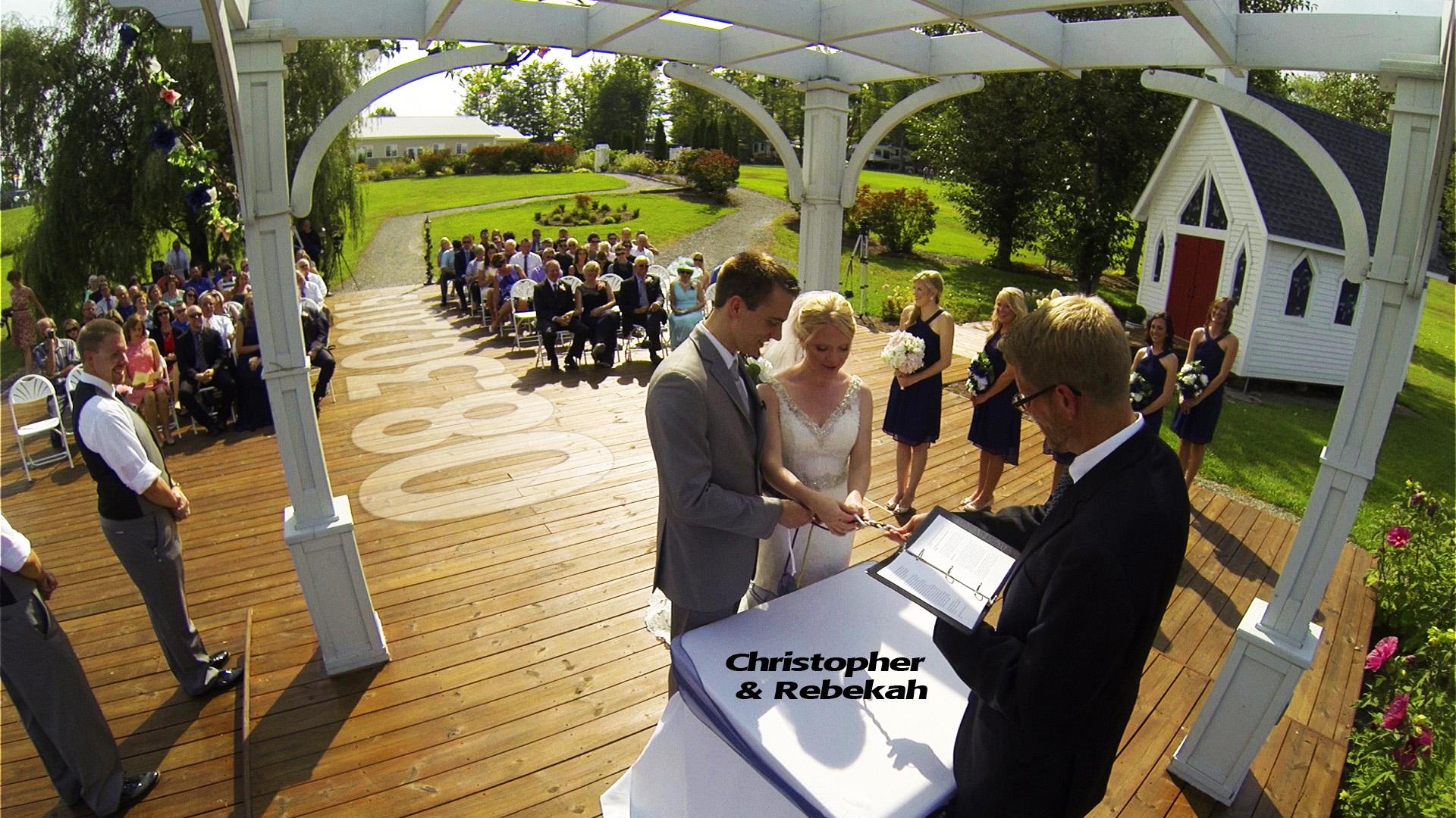 Bekah & Chris – Pine Cradle Lake Wedding