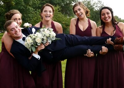 04 Groom w Bridesmaids